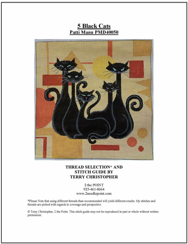 Patti Mann, 5 Black Cats PMD40050