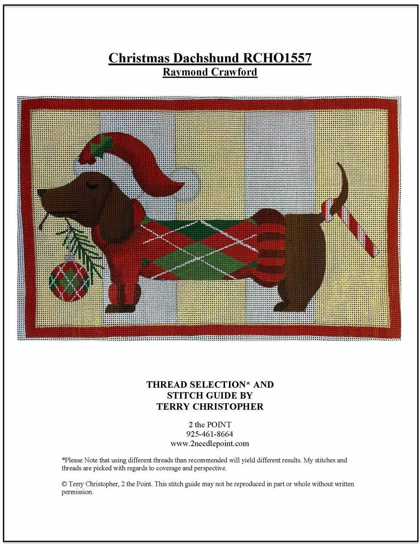 Raymond Crawford, Christmas Dachshund RCHO1557