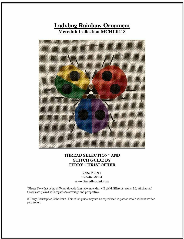 Meredith Collection, Rainbow Ladybugs MCHO413