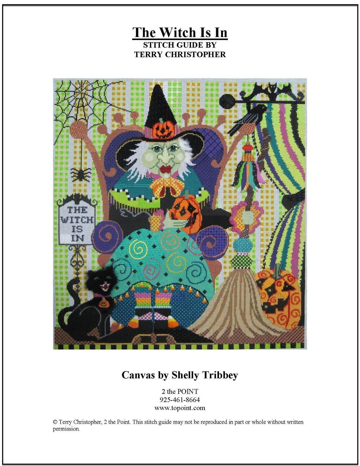 Shelly Tribbey, The Witch is In