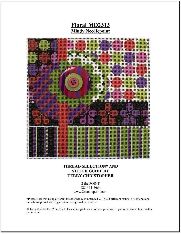 Mindy Designs, Geometric Floral MD2313