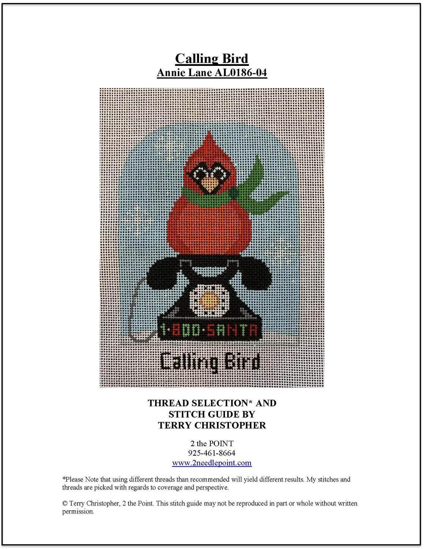 Annie Lane, Day 4 Calling Bird AL0186-04