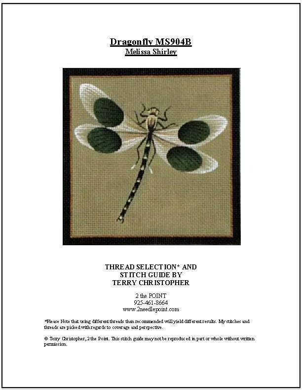 Melissa Shirley, Dragonfly MS904B