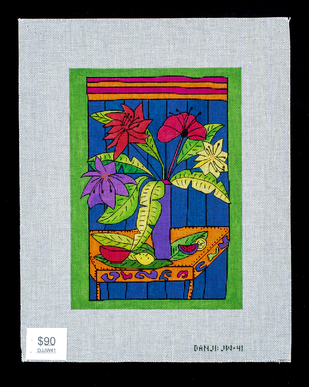 Danji Designs, Bright Floral, DJJW41