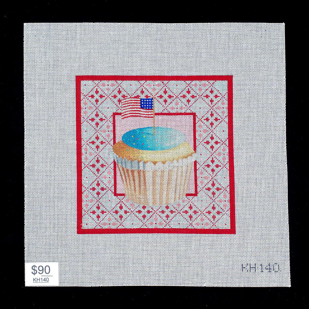 Patriotic Cupcake, KH140