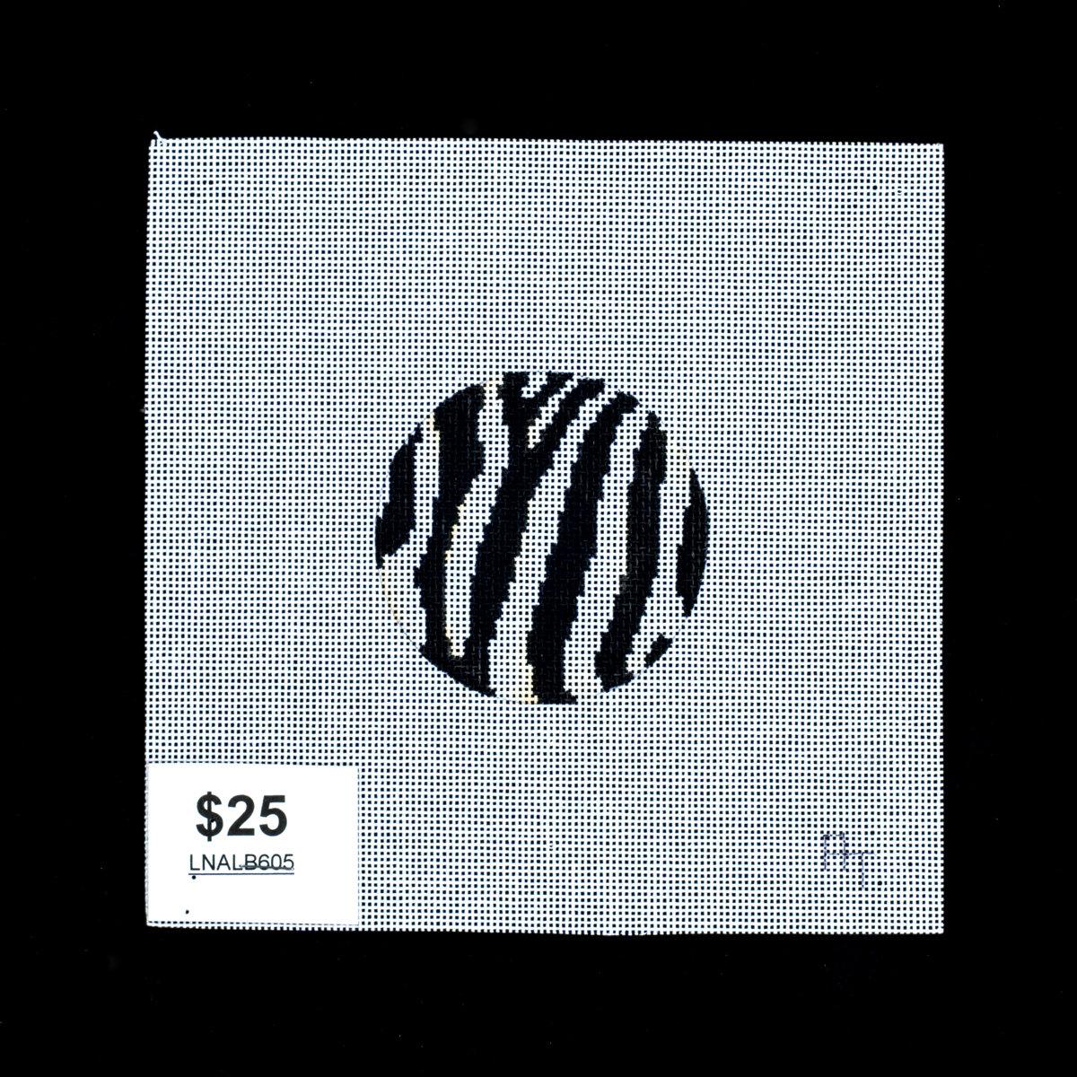 Lee's Needle Arts, Zebra Ornament/Luggage Tag, LNALB605