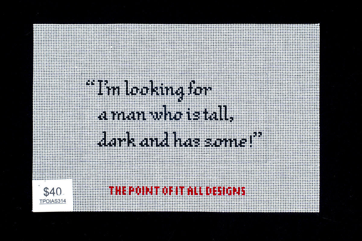 The Point of it All, Looking for a Man..., TPOIAS3134
