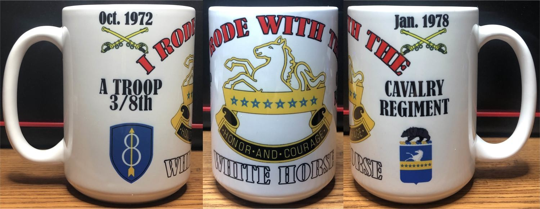 8th Cavalry Regiment Coffee Mug FREE SHIPPING