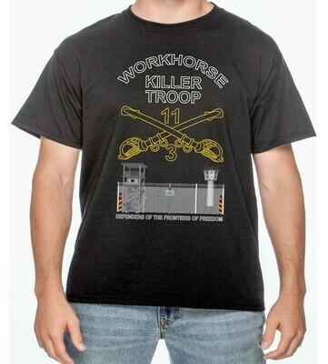 11TH ACR WORKHORSE KILLER TROOP  Border Shirt