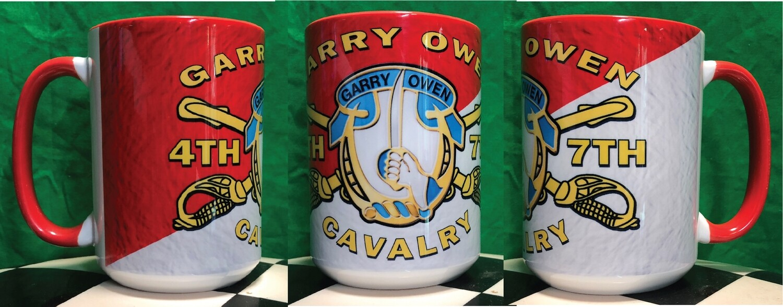 4TH/7TH CAV GARRY OWEN Coffe Mug FREE SHIPPING