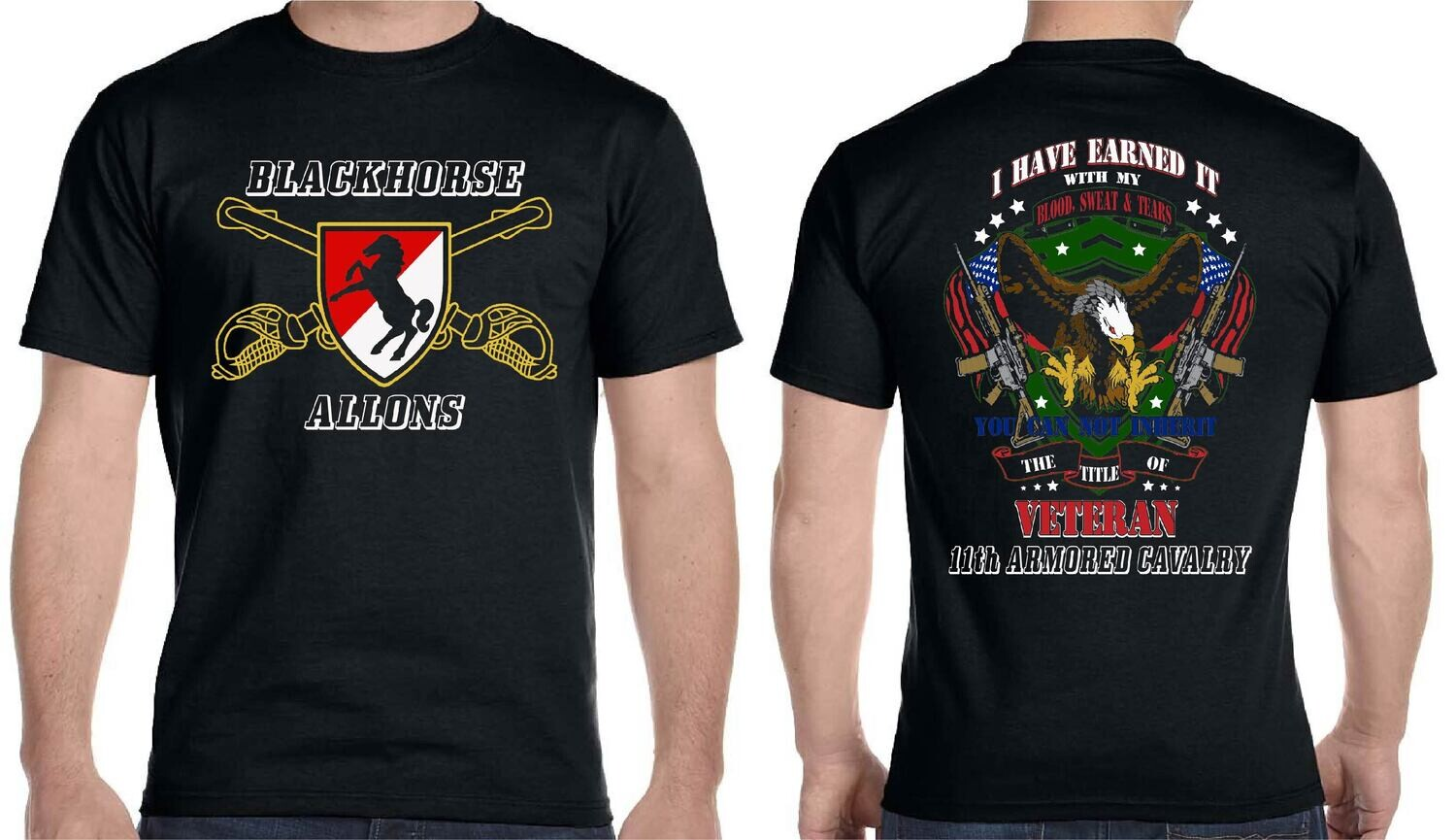11th ACR ALLONS BLACKHORSE EARNED FREE SHIPPING