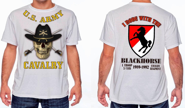 11th BLACKHORSE Cavalry 2 Custom T-Shirt