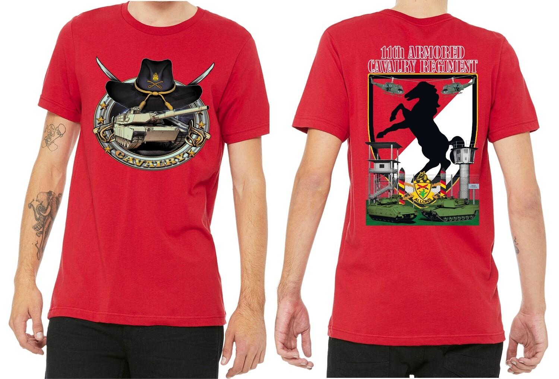 11th ACR Tank Shirt Red FREE SHIPPING