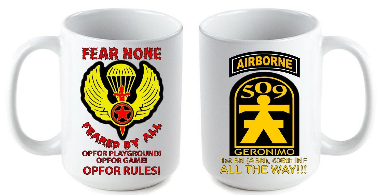 Fear None Coffee Mug FREE SHIPPING