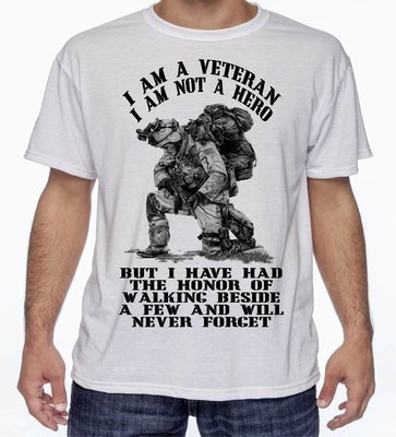 I'm Not a Hero T-Shirt FREE SHIPPING