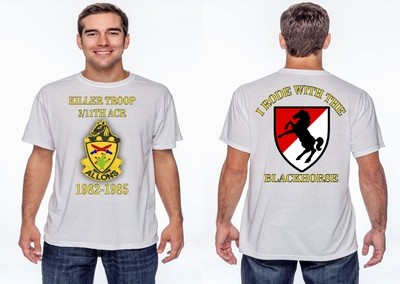 Rode With Blackhorse Custom T-Shirt FREE SHIPPING