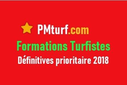 Formations Turfistes Définitive prioritaire 2018 + 100 vidéos lives*