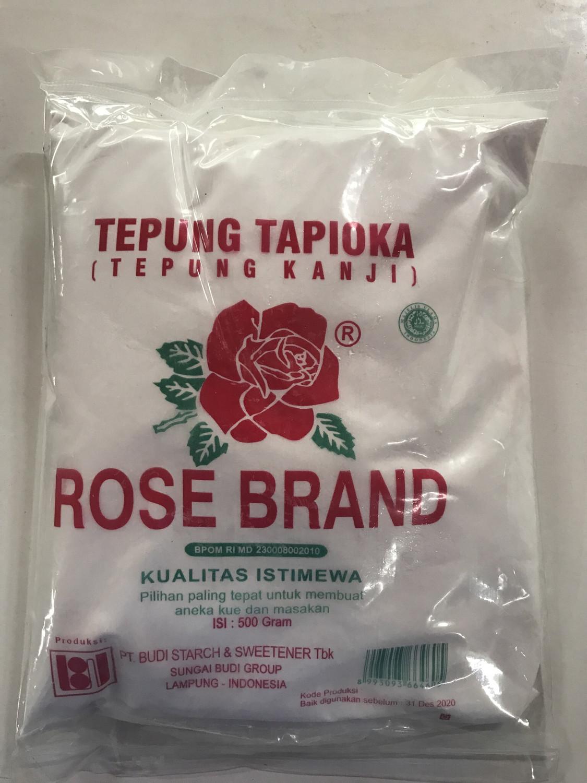 Tepung Tapioka (Kanji) ROSE BRAND 500gram