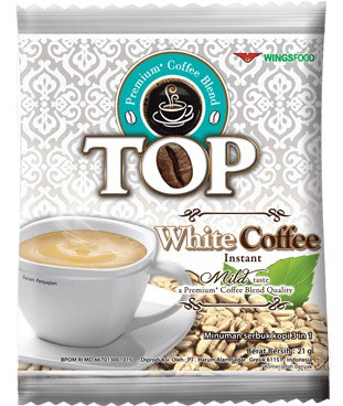 Top White Coffee Instan 20g