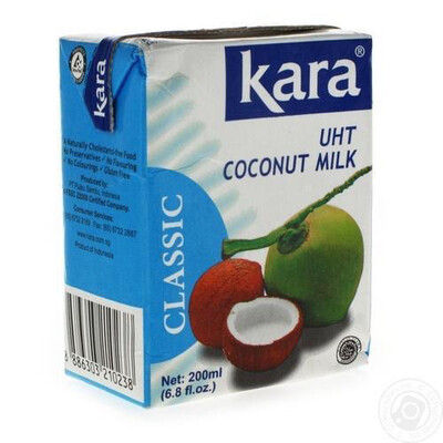 Kara Coconut Milk Klasik 200ml