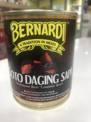 Bernardi Soto daging Sapi