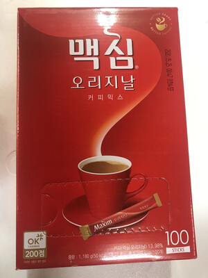 Kopi Korea Mexim Original 100stick