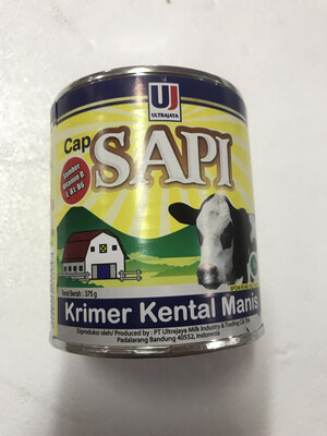 Cap Sapi Krimer Kental Manis Ultra Jaya