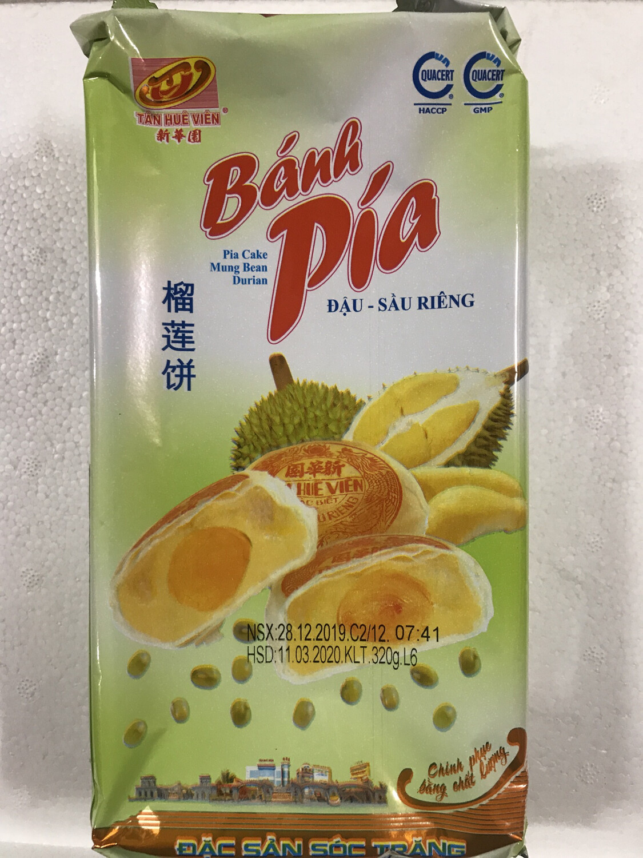 Bak Pia Rasa Durian Dau Sau Rieng