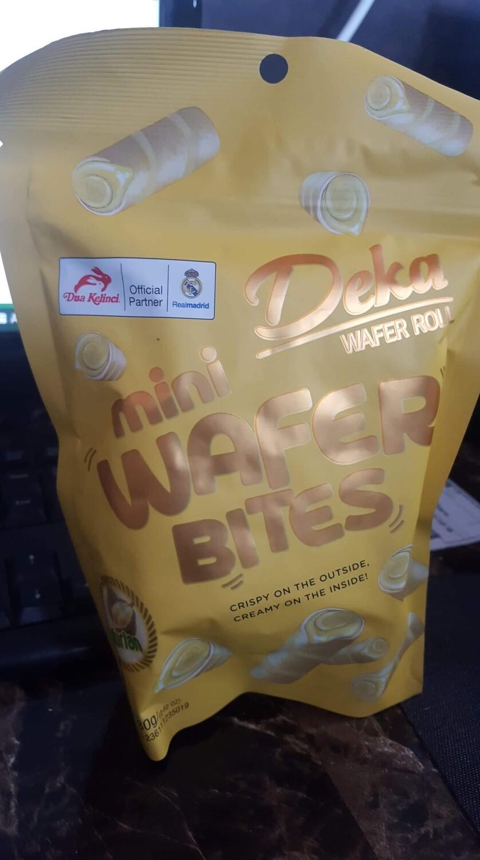 Deka Mini Wafer Bites Rasa Durian
