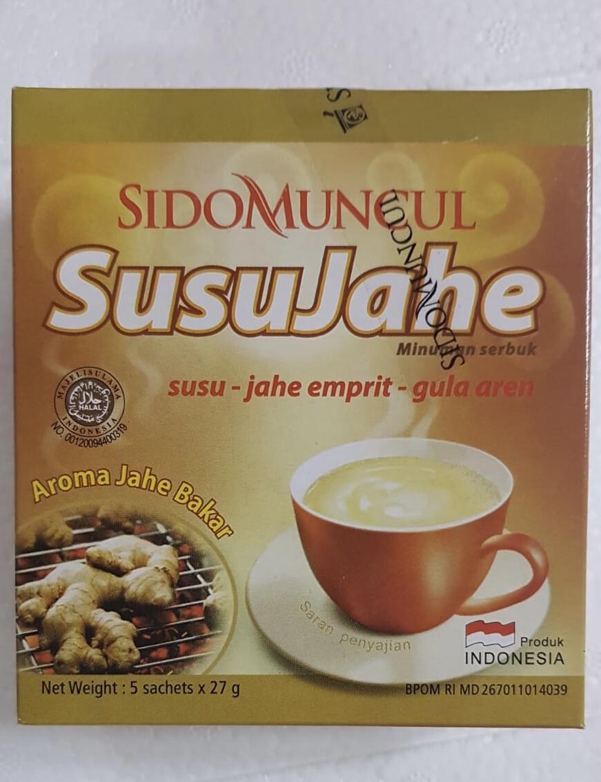 Sidomuncul Susu Jahe (Isi 5 Saset)