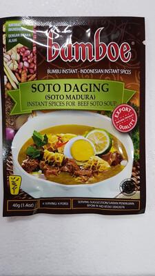Bamboe Soto Daging