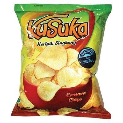 Kusuka - Keripik Singkong @180 gr