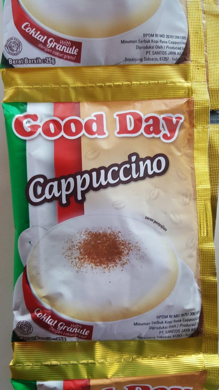 Good Day cappucino/2 sachets
