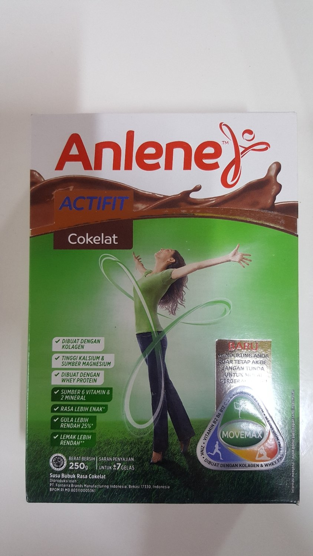 Susu Anlene 250g (cokelat)