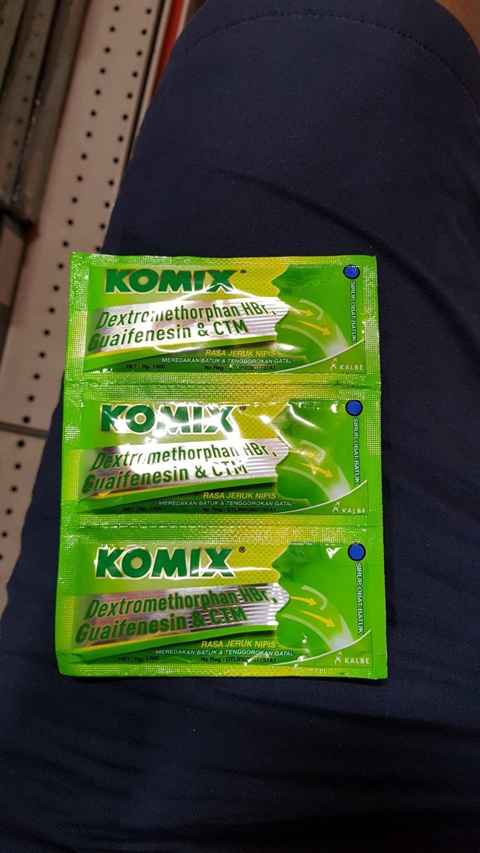 Komix Jeruk Nipis 3 Sachet
