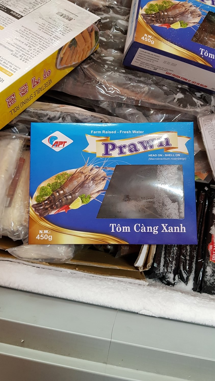 Udang  Lobster (Tom Cang Xanh) 450 gr