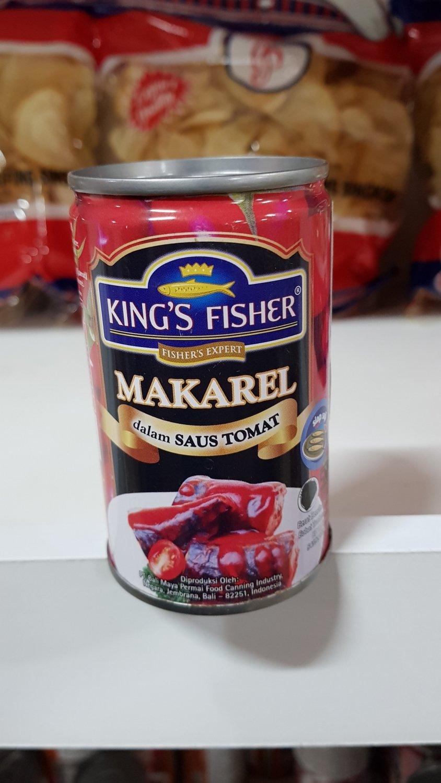 Kings Fisher - Makarel Saus/Saos Tomat (Tomato Sauce)