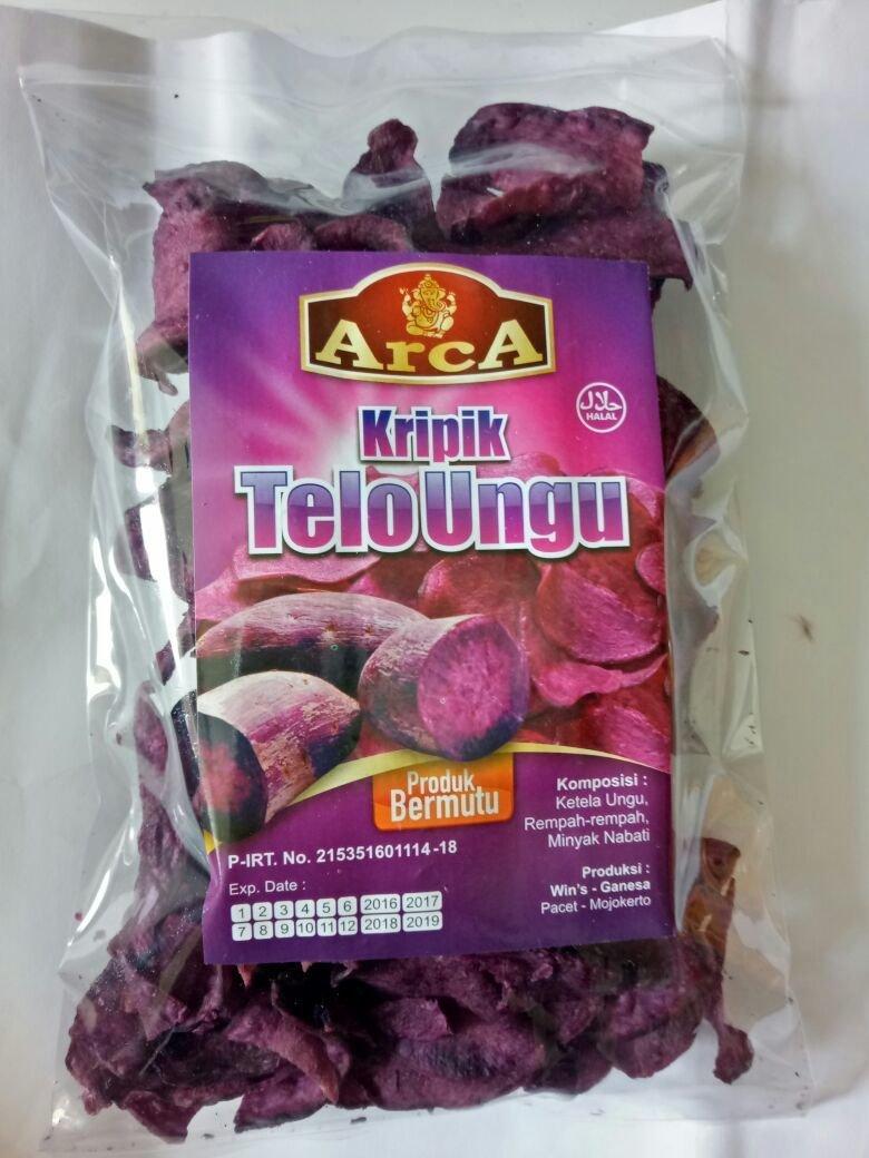Deliamor Keripik Ubi Ungu 190 gr