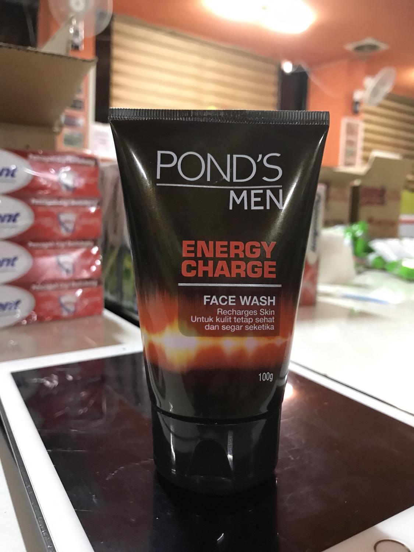 Ponds Men Biru Lightning Oil Clear