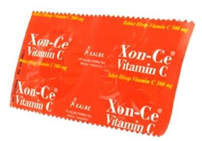Xon-C Vitamin C 500 mg