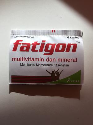 Fatigon  Multivitamin & mineral 4 kaplet