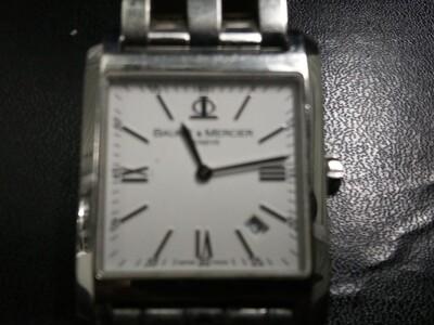 Baume & Mercier Hampton Stainless Steel Watch