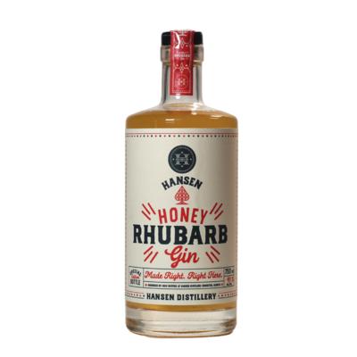 Honey Rhubarb Gin - Seasonal