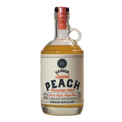 Spiced Peach Moonshine - Seasonal