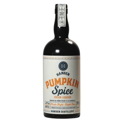 Pumpkin Spice Cream Liqueur - Seasonal