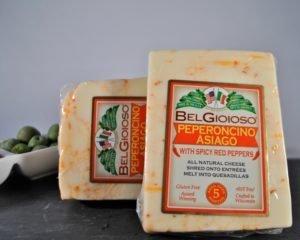 Belgioioso Pepperoncino Asiago Cheese
