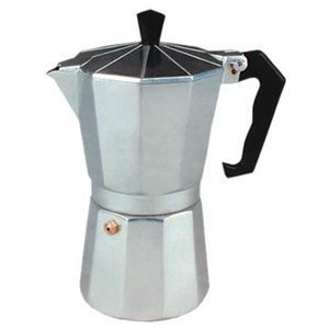 Cucina Pro Aluminum Espresso Maker 6 cup Model
