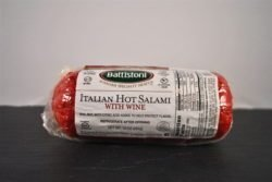 Battistoni Italian HOT Salami With Wine