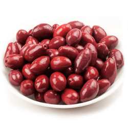 Red Cerignola Olives - 1/2Lb