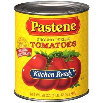 Pastene Ground Peeled Tomatoes